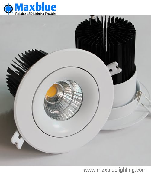 25W_LED_COB_DOWNLIGHT_cri90+_Maxbluelighting