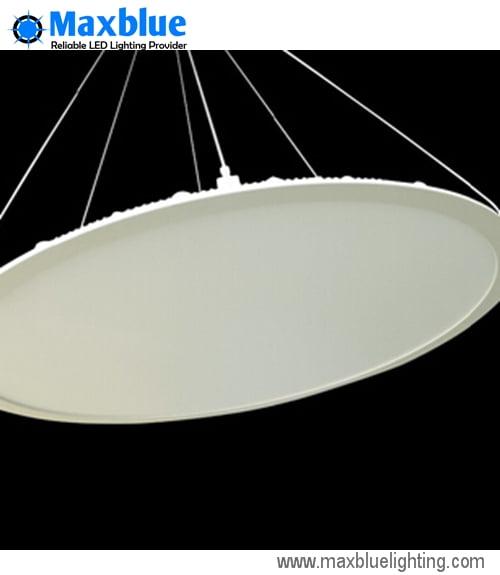 Round Aluminium Panel : W pendant hanging led round panel light mm