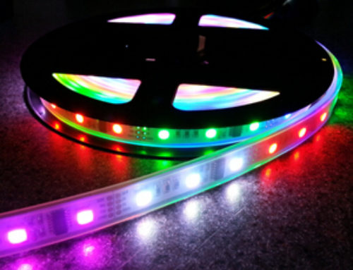 WS2801 LED Addressable Digital Strip 32LEDS/M DC5V IP67