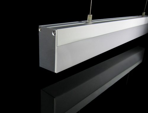 LED Pendant Linear Light Profile Aluminum 1M 38W DC12V/24V