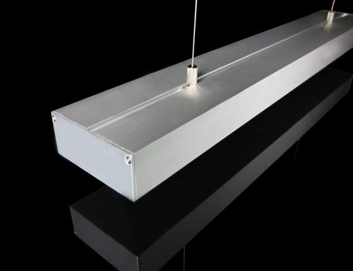 LED Pendant Linear Light Profile Aluminum 1M 76W DC12V/24V