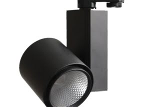 15W 20W black finished led track lighting