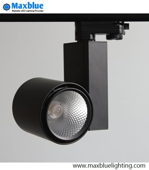 Led Track Lighting Components: 15W 20W CREE COB LED Track Lighting Fixtures Kits