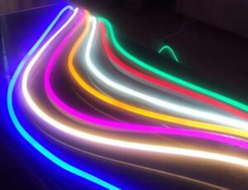 110V/230VAC LED NEON FLEX STRIP LIGHT