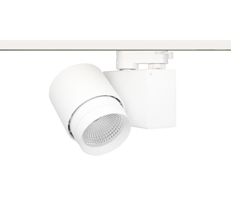 32W LED Track Lighting for Low Ceilings - Maxblue Lighting