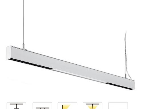 UP & Down Emitting Anti-glare LED Linear Lighting