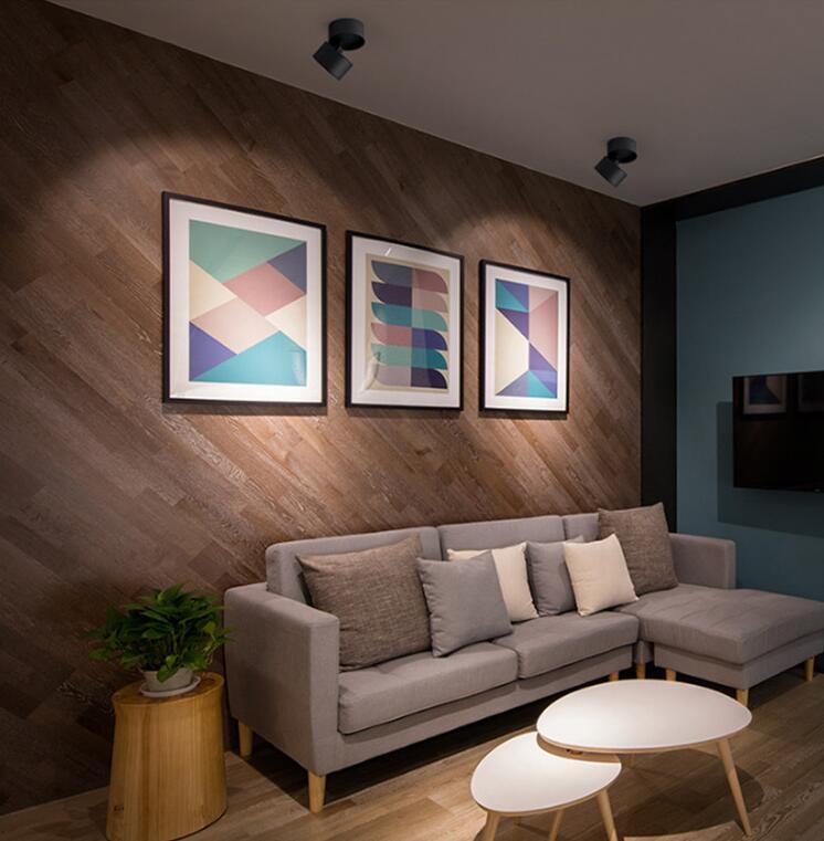 downlight for roof slopes in living room